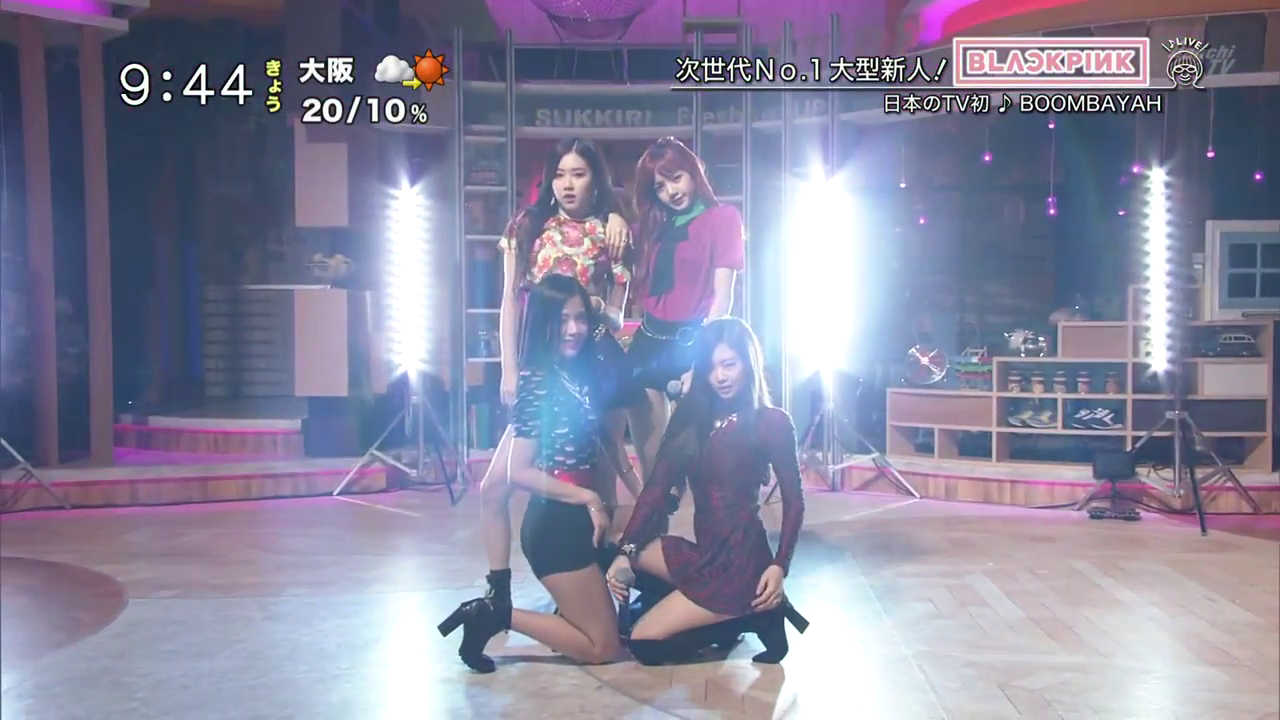 [JAPAN] 170830 BLACKPINK on Nippon TV's Freshen Up!! (Live TV Performance Debut + Interview)