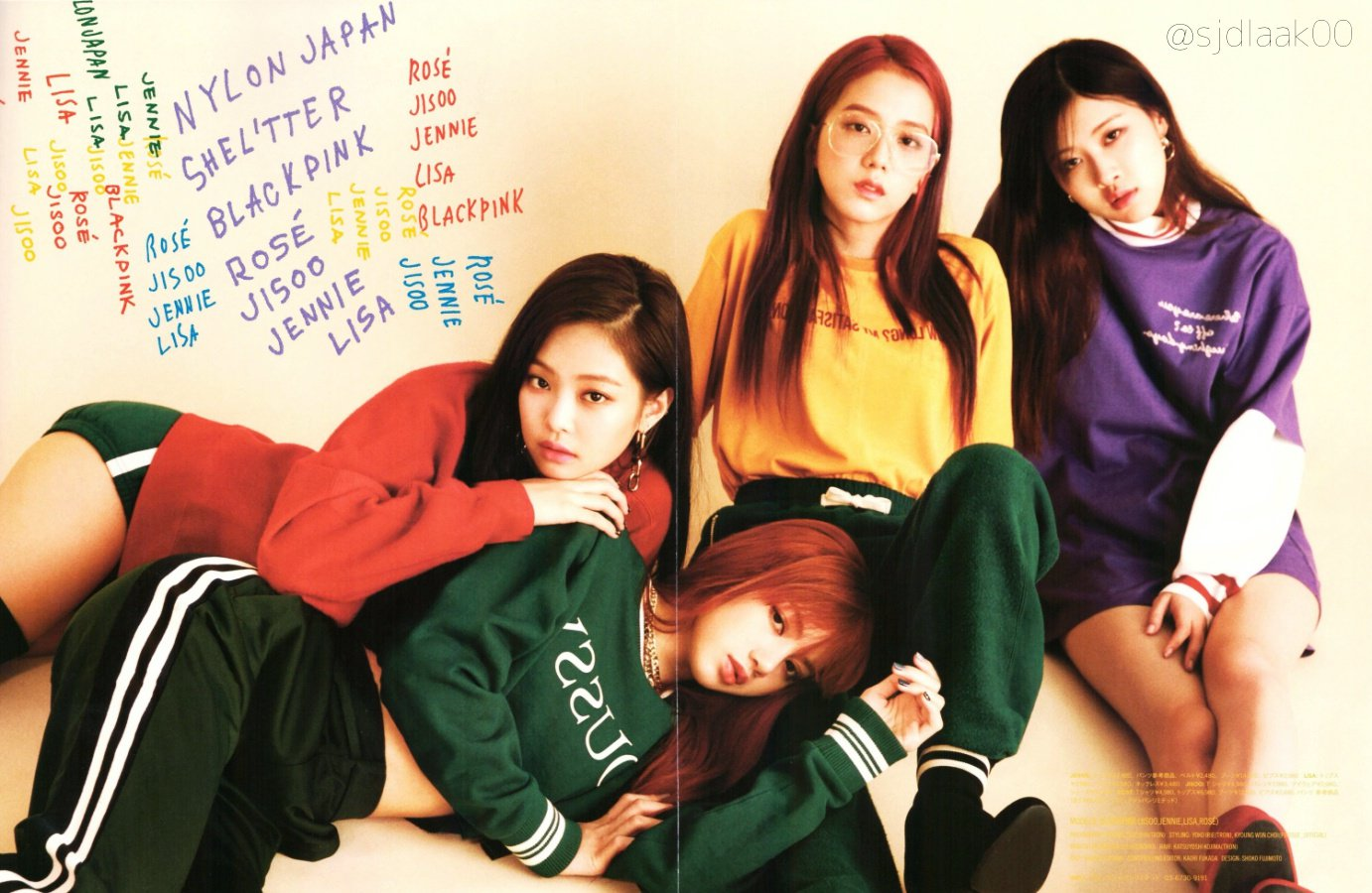 [MAGAZINE] 170815 BLACKPINK on NYLON Japan x SHEL'TTER Special Limited Edition Issue