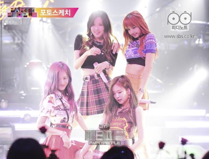 [SHOW] 170813 BLACKPINK on SBS Park Jinyoung (JYP)'s Party People Episode 4