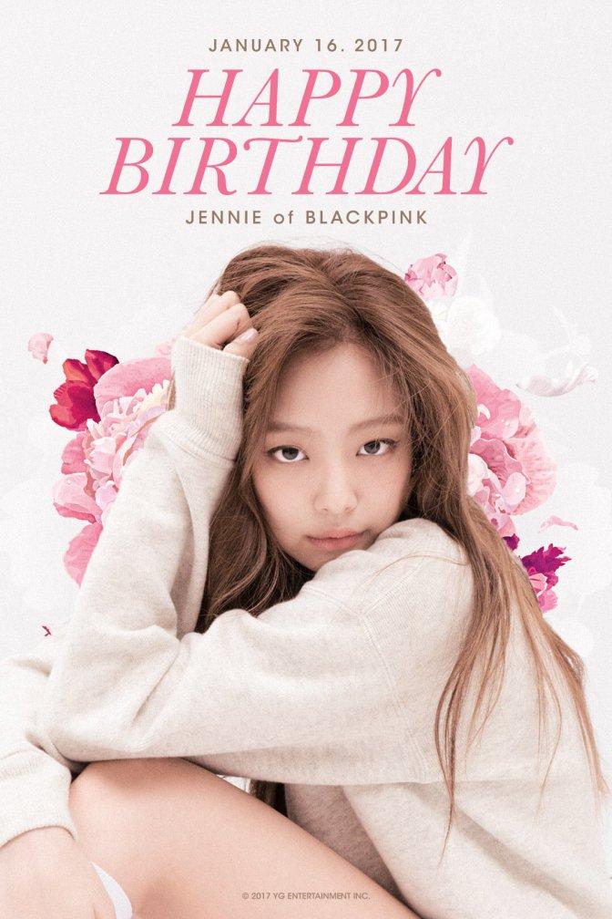 [OFFICIAL] 170116 HAPPY BIRTHDAY JENNIE