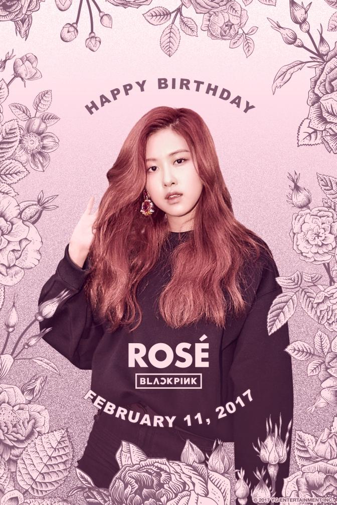 [OFFICIAL] 170211 HAPPY BIRTHDAY ROSÉ
