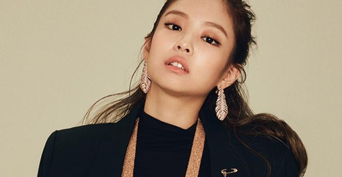 [MAGAZINE] 170928 Jennie on Heren October 2017 Issue for Boucheron