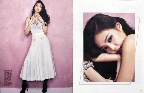 [magazine] jennie on harper's bazaar korea january 2018