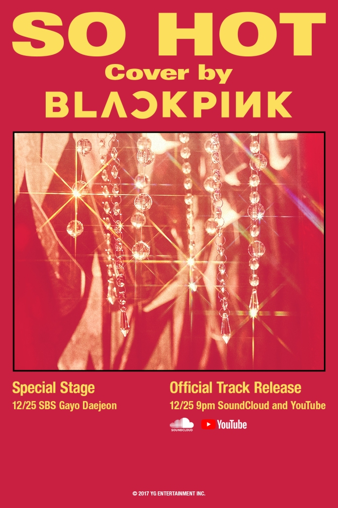 [OFFICIAL] 171225 BLACKPINK – SO HOT (THEBLACKLABEL Remix) Official Track