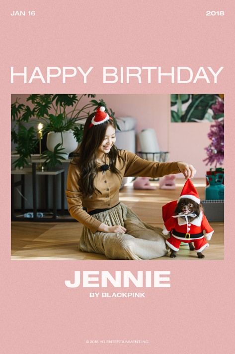 180116 HAPPY BIRTHDAY JENNIE