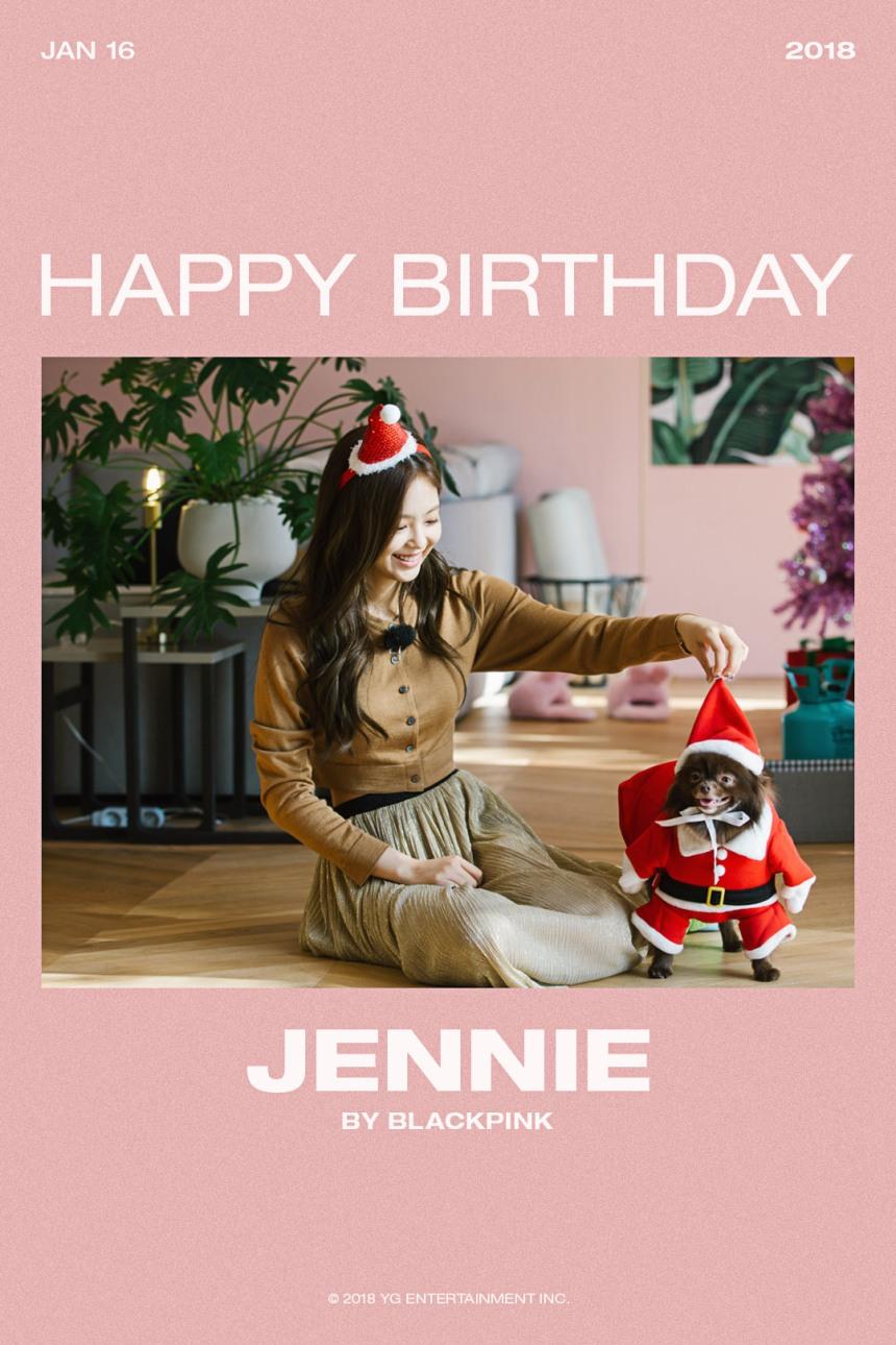 180116 HAPPY BIRTHDAY JENNIE