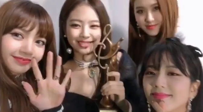 [IG/TRANS] 180126~31 blackpinkofficial Updates: Seoul Music Awards, BLACKPINK HOUSE, TikTok App & More