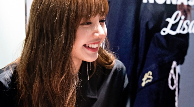 [EVENT] 180227 Lisa at NONA9ON's Pop-Up Store Hightouch & Photo Fan Meeting