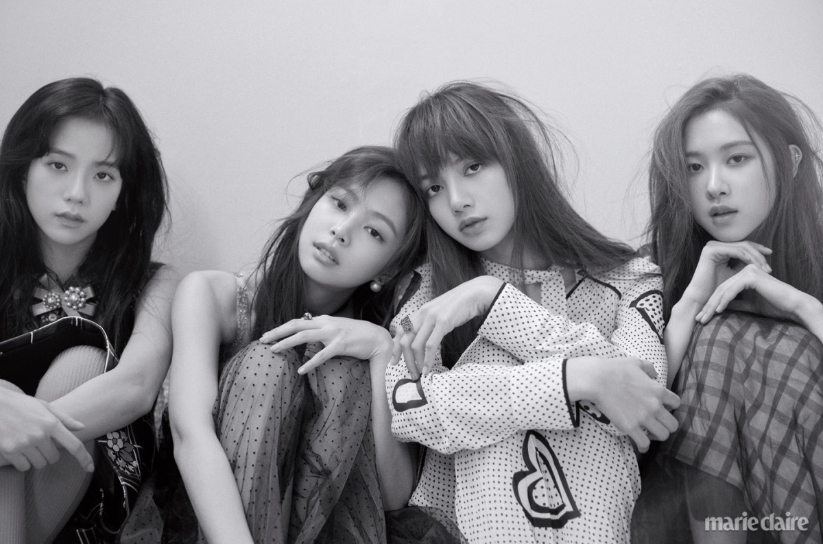 [MAGAZINE] 180220 BLACKPINK on Marie Claire Korea March 2018 Issue (INTERVIEW + OFFICIAL PHOTOS)
