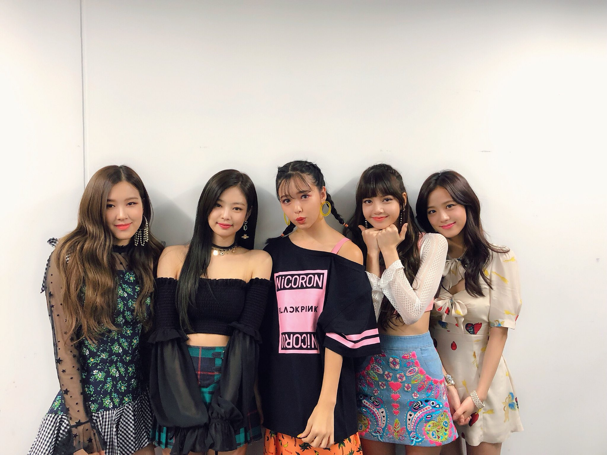 180331 0220nicole With Blackpink Ygdreamers