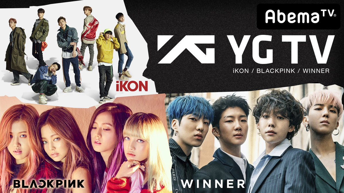 [INFO] BLACKPINK Appearances on AbemaTV + Special Launch of 'YG CHANNEL'