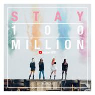 180402 blackpinkofficial 100m youtube stay mv
