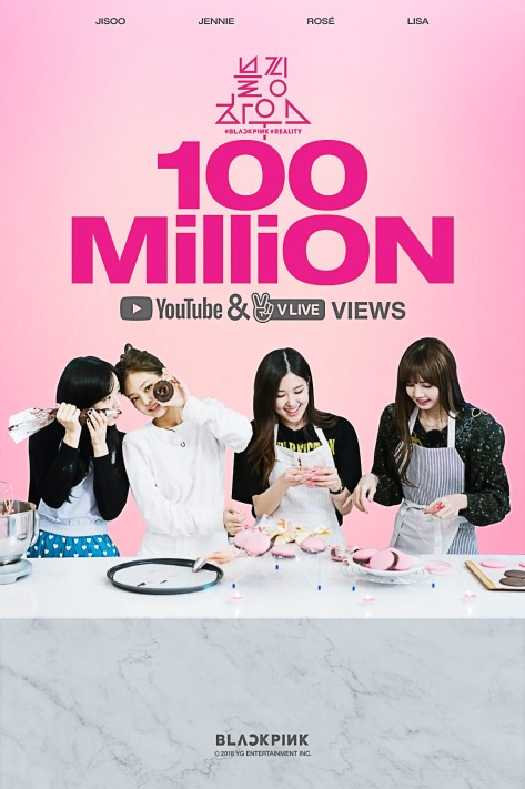 180511 BLACKPINK - 'BP HOUSE' HITS 100 MILLION VIEWS