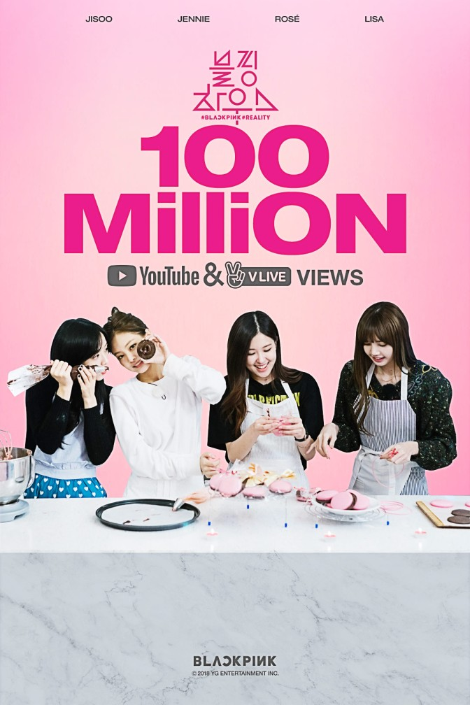 [OFFICIAL] 180411 BLACKPINK – 'BP HOUSE' HITS 100 MILLION VIEWS