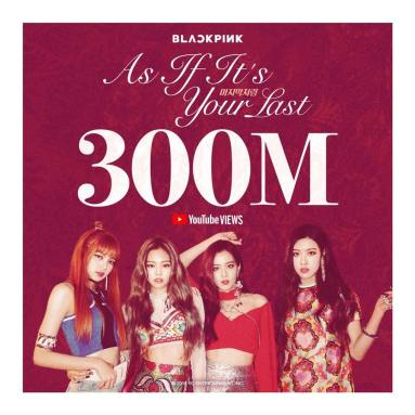 180514 blackpinkofficial aiiyl mv 300m youtube views