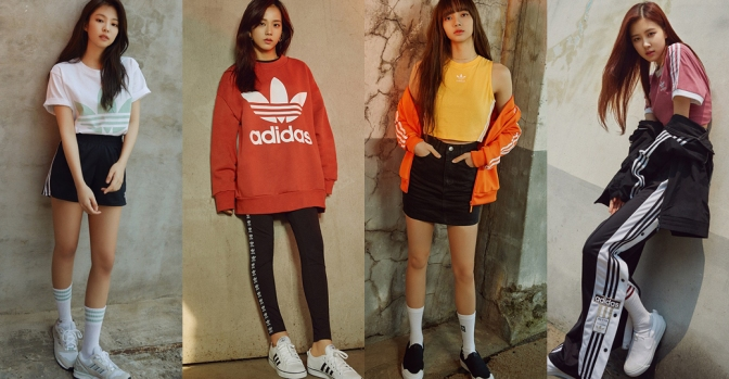 [ENDORSEMENT] BLACKPINK for Adidas Originals Korea: NIZZA + ZX8000 + SAMBROSE
