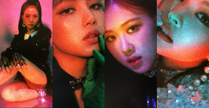 "[YG-LIFE] 180610 ""Surprising Unedited Photos"", YG Previews BLACKPINK Album Photos"
