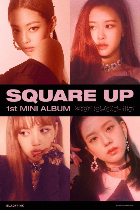 180612 BLACKPINK - 'SQUARE UP' TEASER POSTER 1