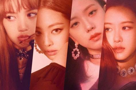 180612 BLACKPINK - 'SQUARE UP' TEASER POSTER