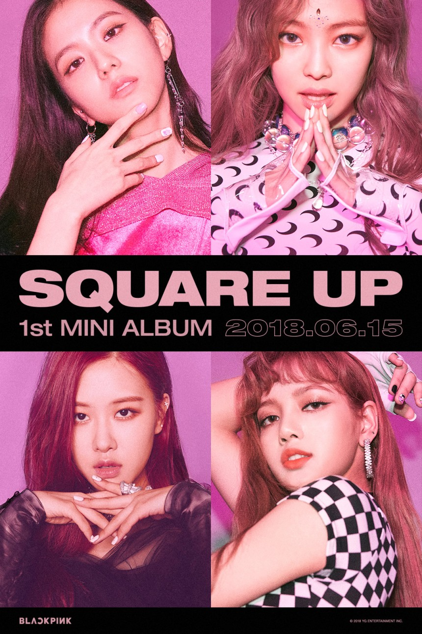180613 BLACKPINK - 'SQUARE UP' TEASER POSTER 1