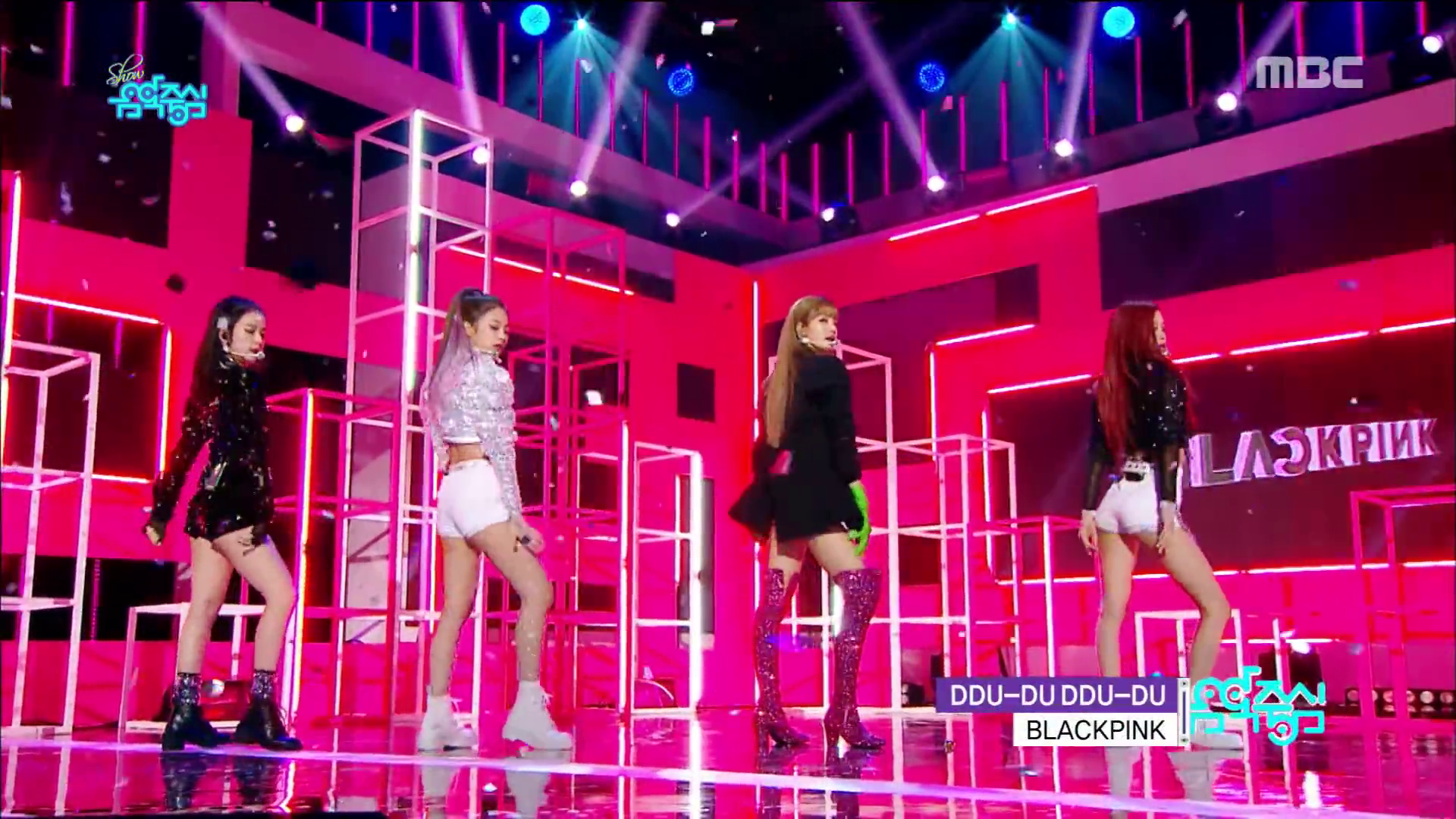 [SHOW] 180616 BLACKPINK – '뚜두뚜두' (DDU-DU DDU-DU) + FOREVER YOUNG Comeback Stages on MBC Music Core