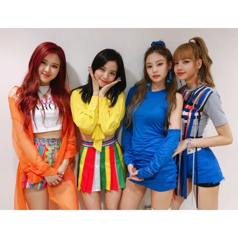 180617 blackpinkofficial 2 sbs inkigayo behind_5