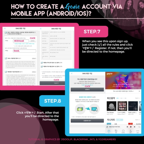 SUPPORT] GENIE INFO & TUTORIAL (Account Sign Up & Streaming