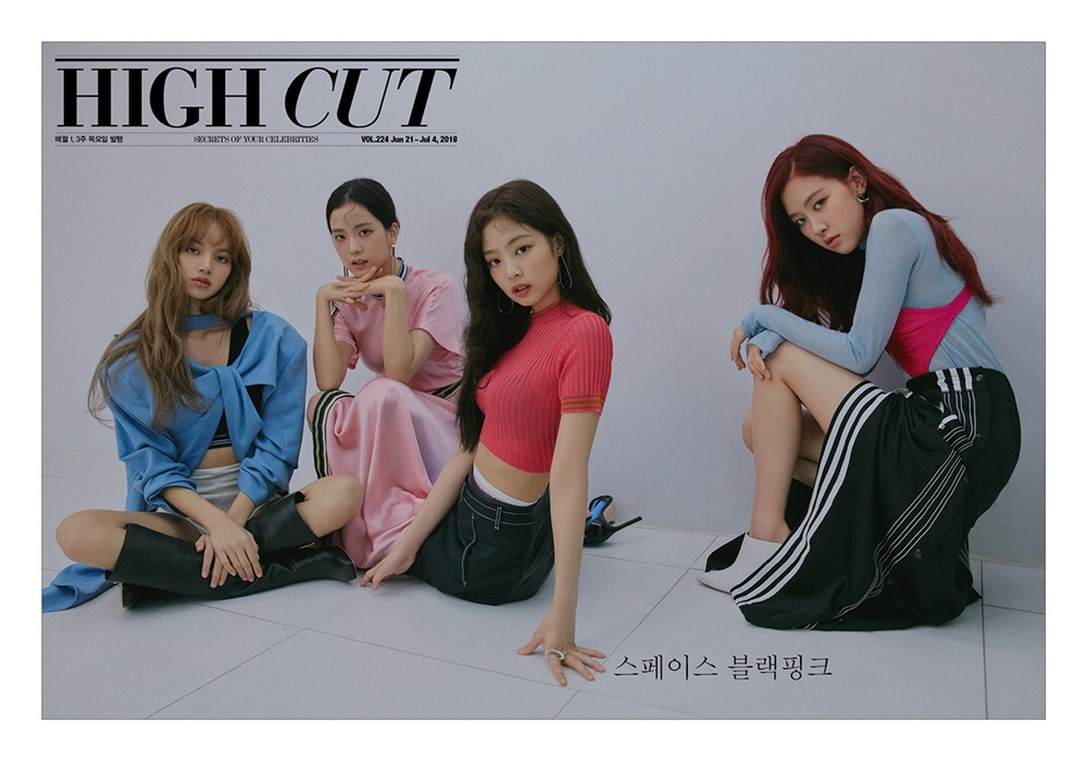 [MAGAZINE] 180621 BLACKPINK for HIGH CUT Korea Volume 224
