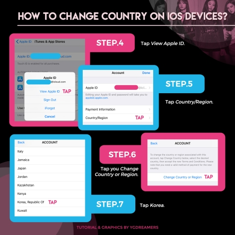 IOS CHANGE COUNTRY TUTORIAL 2