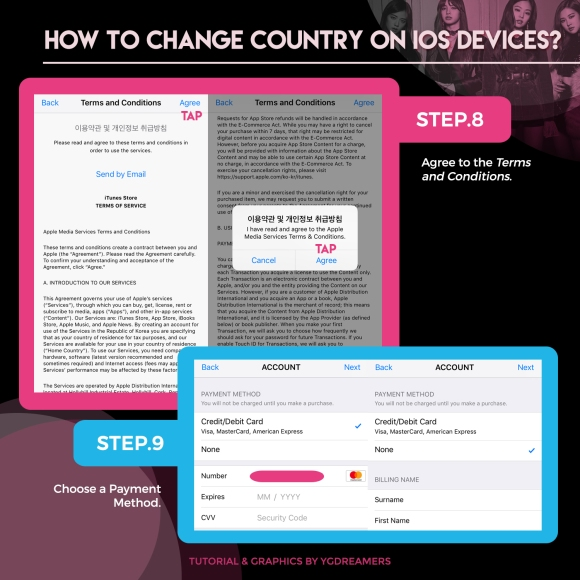 IOS CHANGE COUNTRY TUTORIAL 3