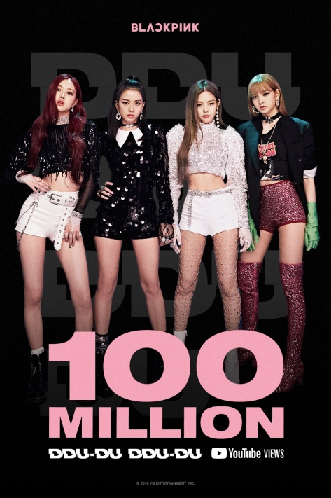 180625 BLACKPINK - 'DDU-DU DDU-DU' MV HITS 100 MILLION VIEWS