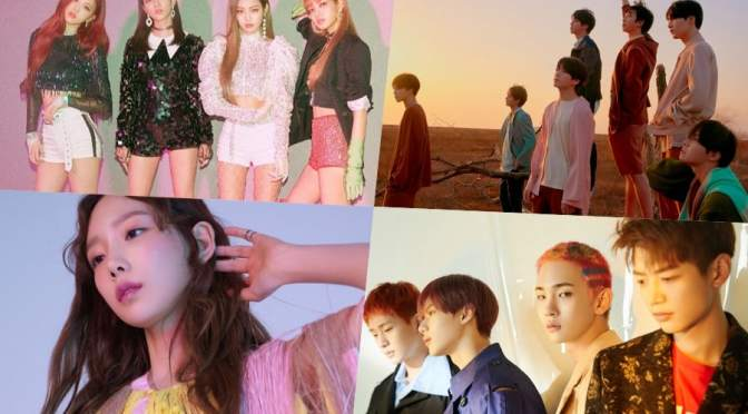 [NEWS] 180627 BLACKPINK, BTS, Taeyeon, And SHINee Grab Spots In Top 10 Of Billboard's World Albums Chart