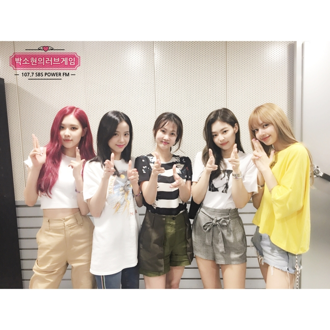 [RADIO] 180629 BLACKPINK on SBS Power FM Park Sohyun's Love Game Radio Show
