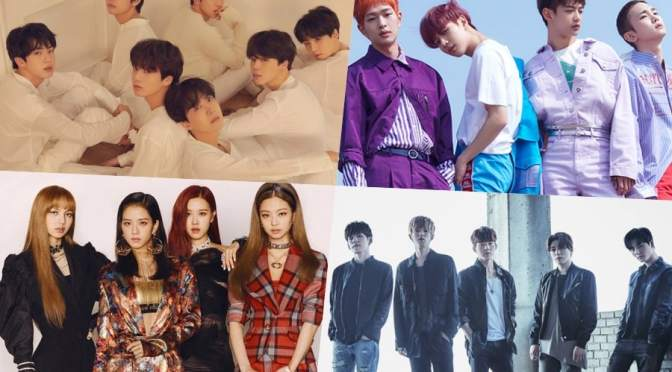 [NEWS] 180704 BTS, SHINee, BLACKPINK, DAY6, And NU'EST W Take Spots In Top 10 Of Billboard's World Albums Chart
