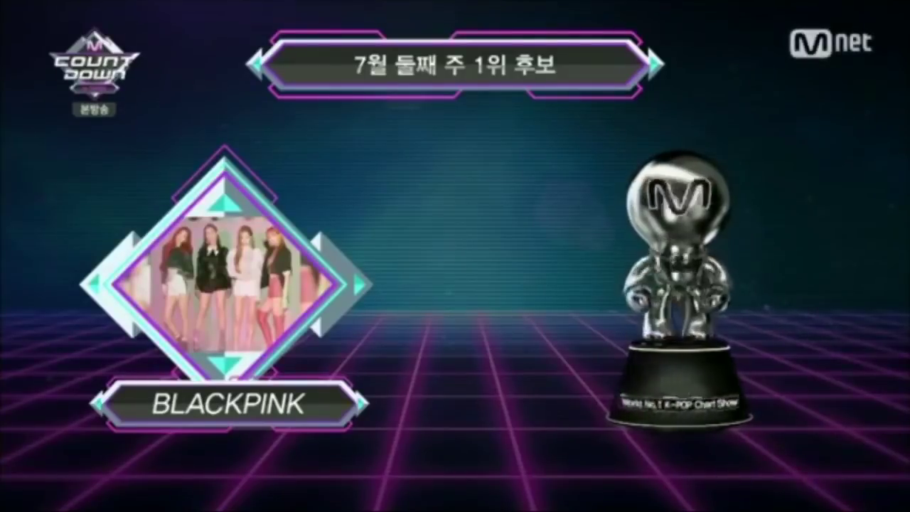 [INFO] 180712~13 BLACKPINK Grabs 10th for 'DDU-DU DDU-DU' on Mnet M!Countdown, Ranked 2nd on KBS Music Bank