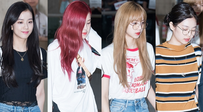 [PRESS] 180720 BLACKPINK at Gimpo Airport (Arrival from Japan)