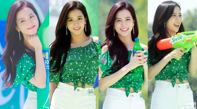[EVENT] 180721 Press Photos of JISOO at WATERBOMB Festival 2018 in Seoul
