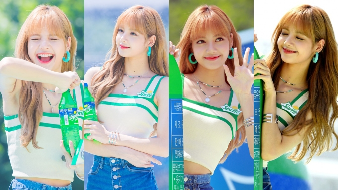 [EVENT] 180721 Press Photos of LISA at WATERBOMB Festival 2018 in Seoul