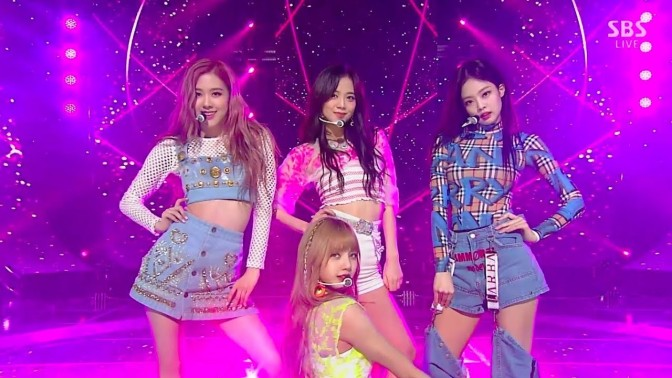 [SHOW] 180722 BLACKPINK Performs 'Forever Young' on SBS Inkigayo