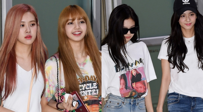 [PRESS] 180726 BLACKPINK at Gimpo Airport (Arrival from Japan)