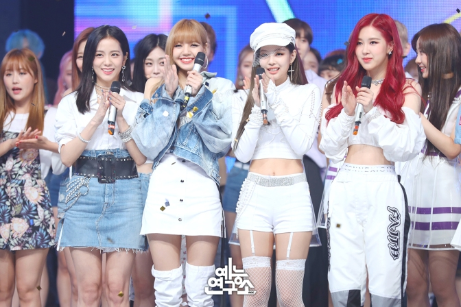 [NEWS] 180804 BLACKPINK Ranks 1st on 5 Music Site Monthly Charts