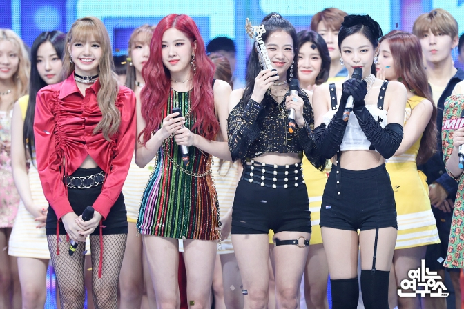 [OFFICIAL] 180714 BLACKPINK's HQ Photos on MBC Music Core
