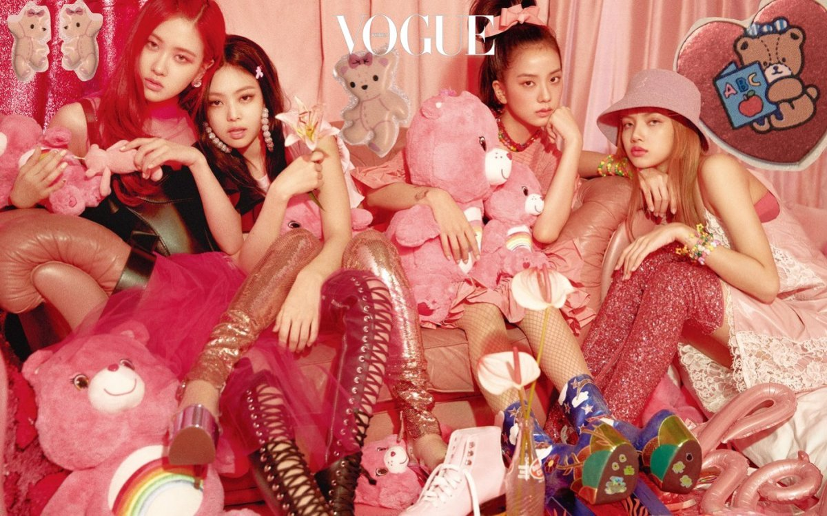 [MAGAZINE] 180722 BLACKPINK for Vogue Korea August 2018 Issue (INTERVIEW + PHOTOS)