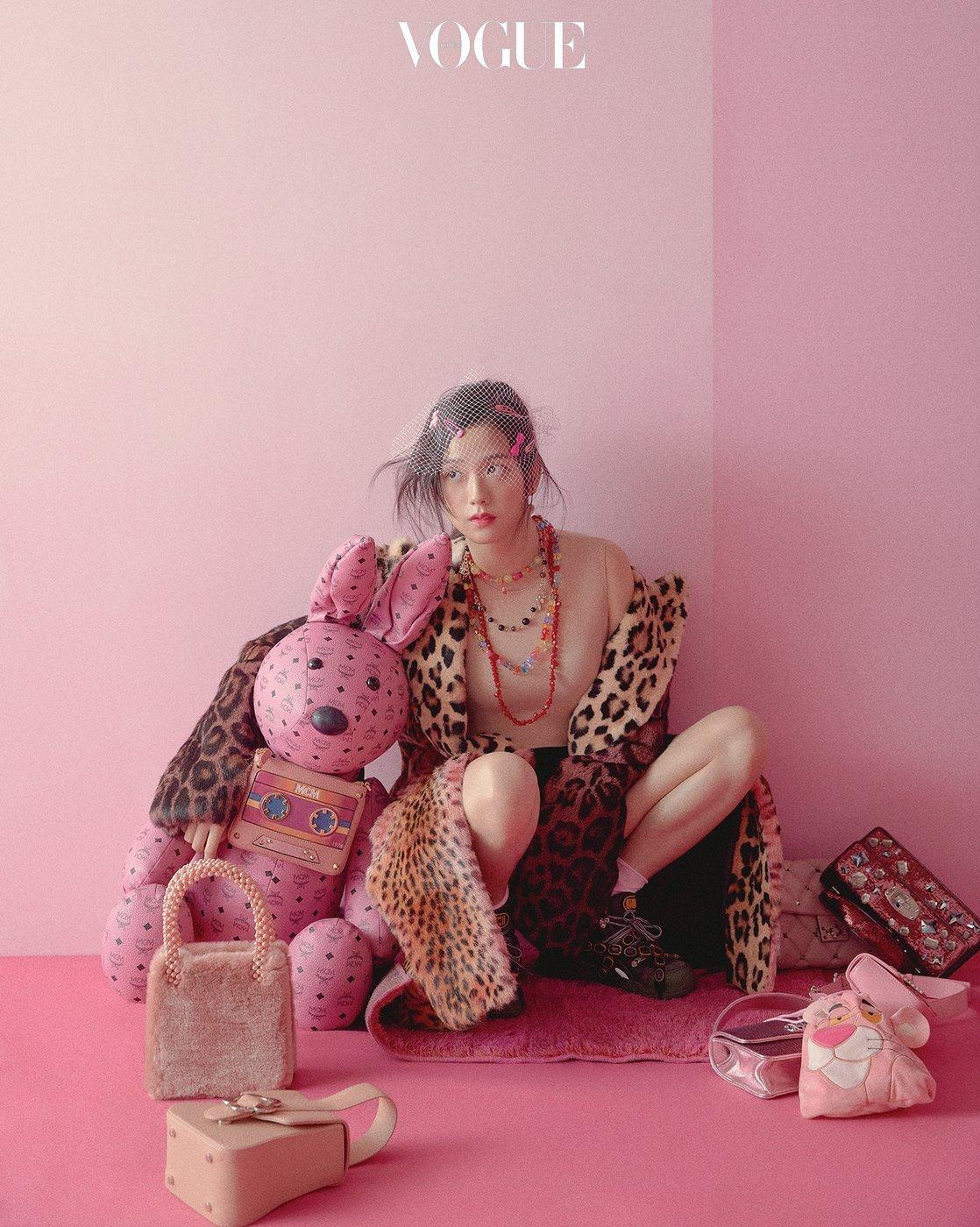 Magazine 180722 Blackpink For Vogue Korea August 2018 Issue