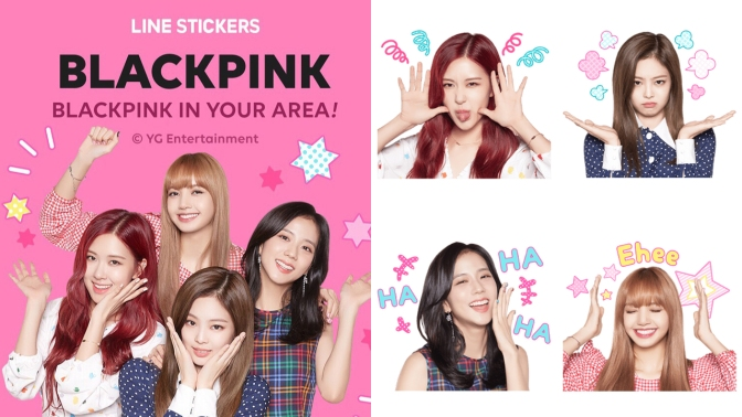 [OFFICIAL] 180802 BLACKPINK Line Stickers