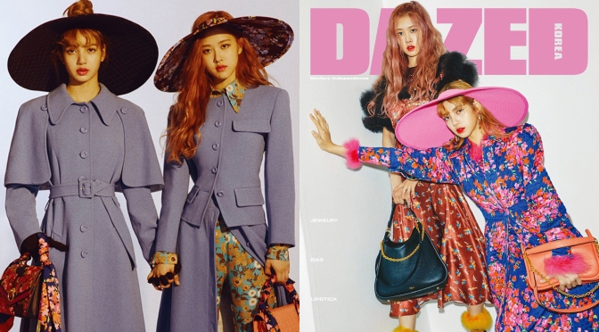 [MAGAZINE] Rosé & Lisa for Dazed Korea Special Fall 2018 Edition