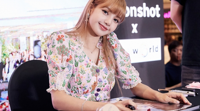 [SNS] moonshot_korea Instagram Updates with Lisa at Indonesia & Thailand Fan Events