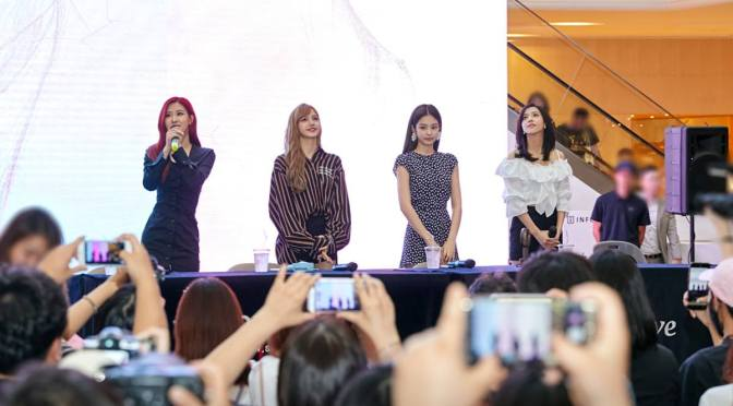 [OFFICIAL] 180623 Photos From BLACKPINK 1ST MINI ALBUM 'SQUARE UP' FANSIGN EVENT in Goyang