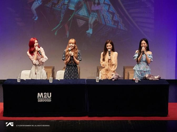 [OFFICIAL] 180701 Photos From BLACKPINK 1ST MINI ALBUM 'SQUARE UP' FANSIGN EVENT in Sinchon