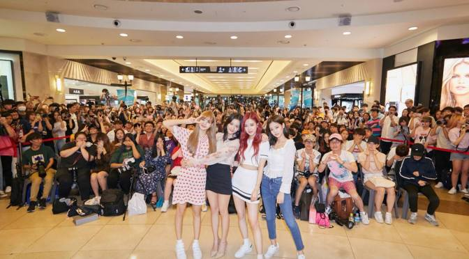 [OFFICIAL] 180624 Photos From BLACKPINK 1ST MINI ALBUM 'SQUARE UP' FANSIGN EVENT in Bundang